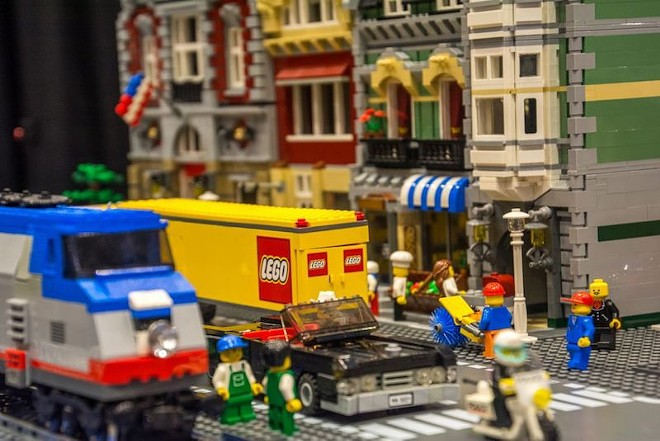 The LEGOs are coming! - COURTESY OF BRICKUNIVERSE LEGO FAN CONVENTION