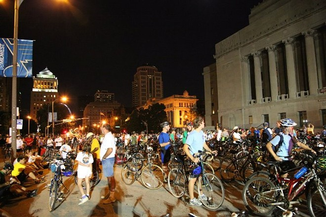 The Moonlight Ramble has been held in St. Louis for 54 yearss. - RFT ARCHIVES