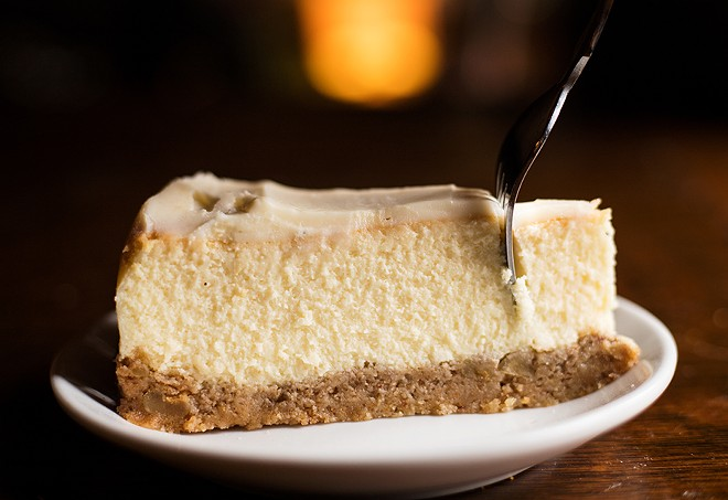 The cheesecake will knock your socks off. - MABEL SUEN