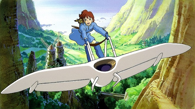 Nausicaä  lives in an ecological ruined world, but she won't stop fighting to undo the damage it in Nausicaä of the Valley of the Wind. - (C) STUDIO GHIBLI