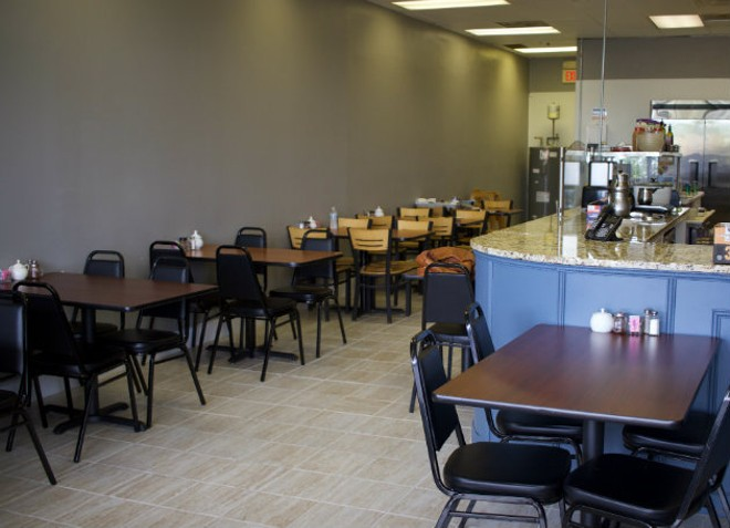 Esther's Persian Cafe is a full-service restaurant. - CHERYL BAEHR