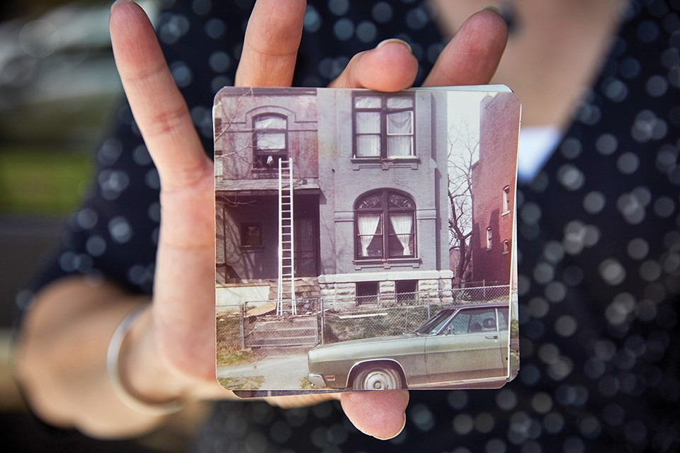 Duke Haydon's photo albums offer a glimpse of the old Lafayette Square. Today it's a thriving neighborhood.