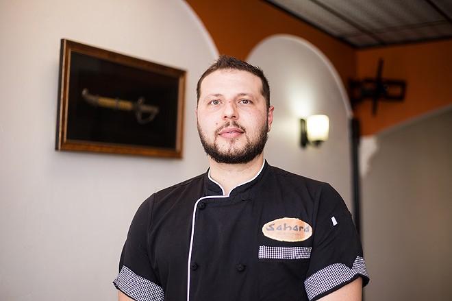 Chef/owner Andrew Abdeen. - MABEL SUEN