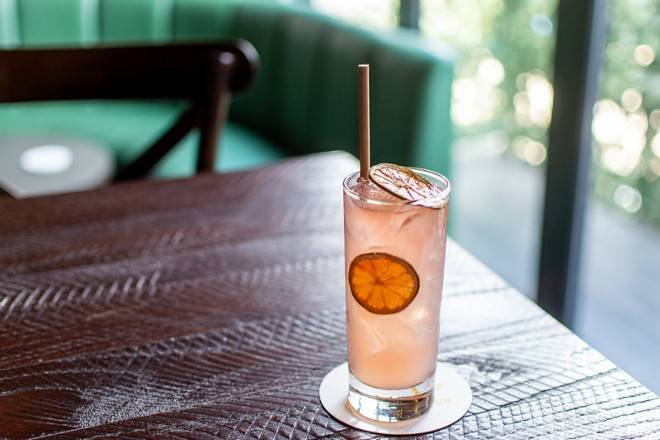 The Rose Paloma: a perfect seasonal drink at Bemiston Cocktail Club. - ELLEN PRINZI