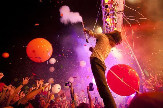 The Flaming Lips will perform at Fair St. Louis on Saturday, July 6. - KHOOLOD EID