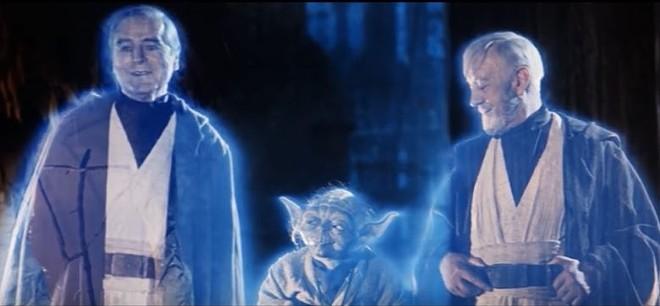 Anakin is back, watching his own body burn. - SCREENSHOT VIA YOUTUBE