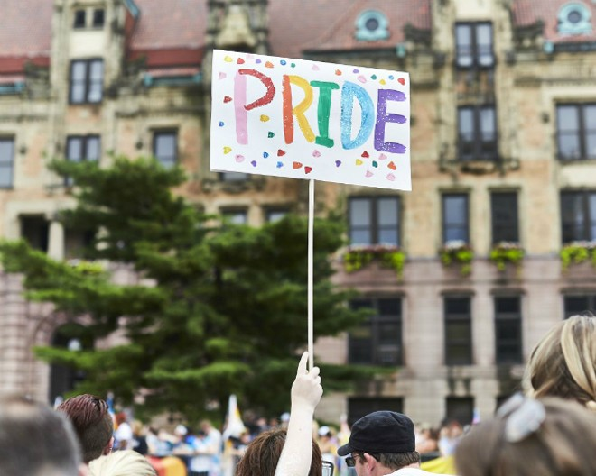 Pride St. Louis will welcome uniformed cops after all. - THEO WELLING