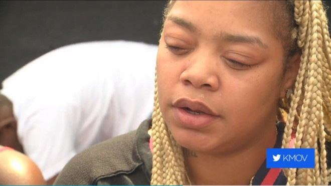 Kashina Harper talks to KMOV about the controversial post. - KMOV