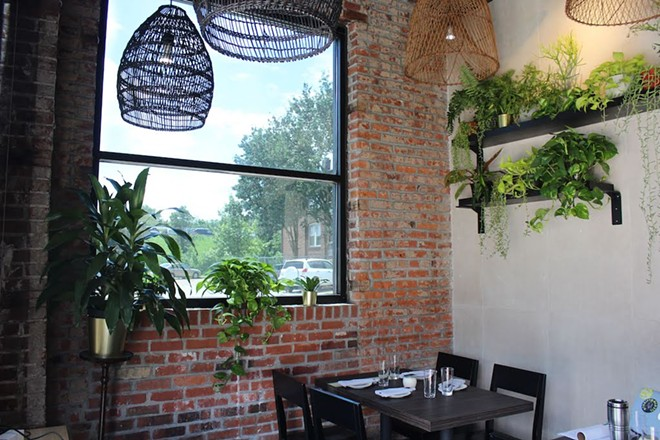 Patrons can dine a la carte, in the formal dining room or at the open chef counter. - KATIE COUNTS