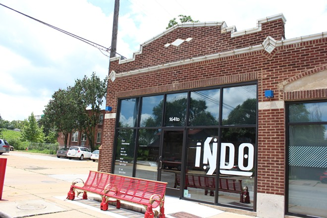 Indo is located among other acclaimed restaurants in the Botanical Heights neighborhood. - KATIE COUNTS