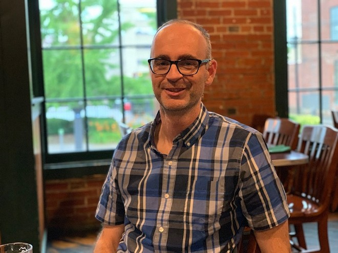 Doyle Murphy, the RFT's new interim editor. - JAIME LEES