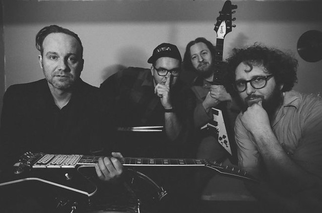 Maximum Effort will host a listening party for its upcoming new double LP this Saturday at the Punk Rock Flea Market. - JOEY GLYNN