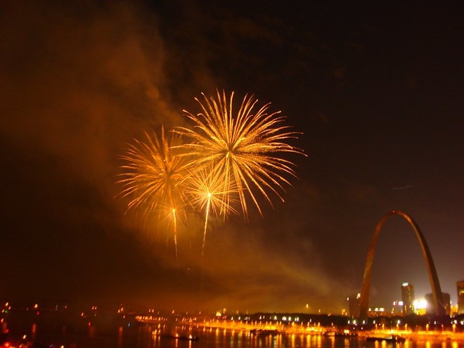 If you want to see fireworks in St. Louis in 2019, we've got all the locations and times. - FLICKR/TYLER NEU