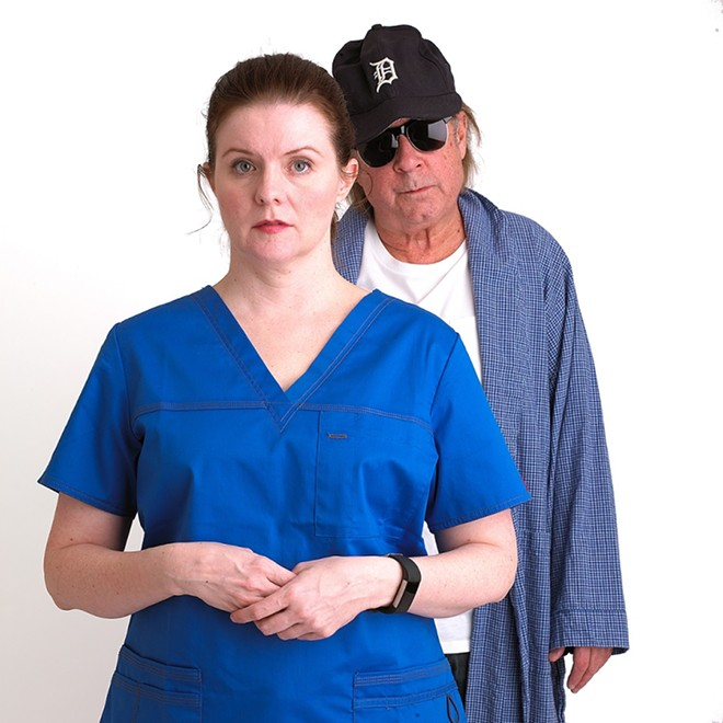 "Midnight Company presents a new one-act, ""Patient #47"" at this weekend's Grand Center Theater Crawl. - TODD DAVIS"