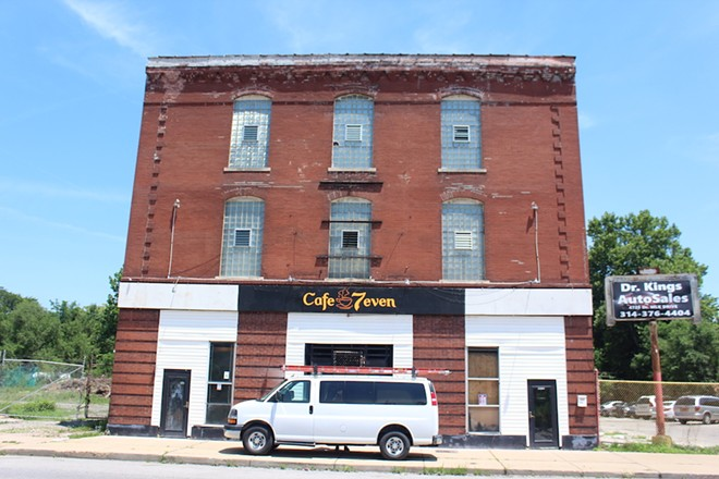 Owner Fahime Mohammad says he plans to open his new restaurant Cafe 7even sometime late July or early August. However, a soft opening is planned for Monday, July 15, at 11:30 a.m. - KATIE COUNTS
