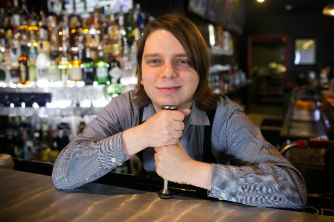 Chris Muether was destined to work in the bar business. - JEN WEST