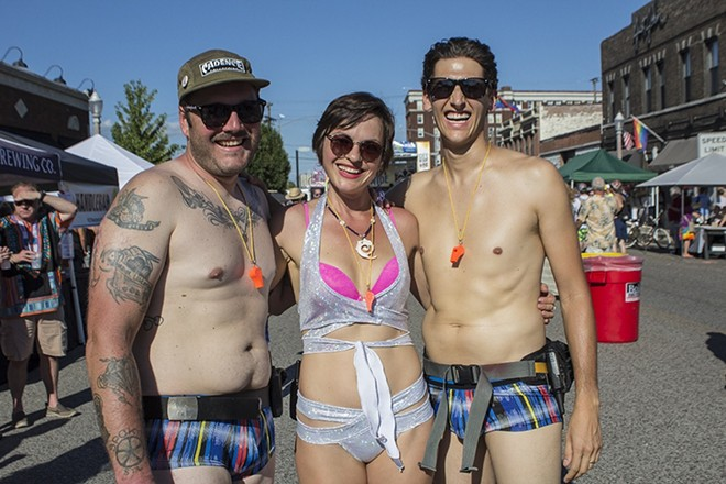 It's World Naked Bike Ride weekend. - SARA BANNOURA