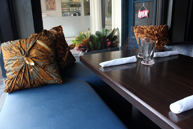 Akar serves lunch, brunch, dinner and it even offers catering. - KATIE COUNTS