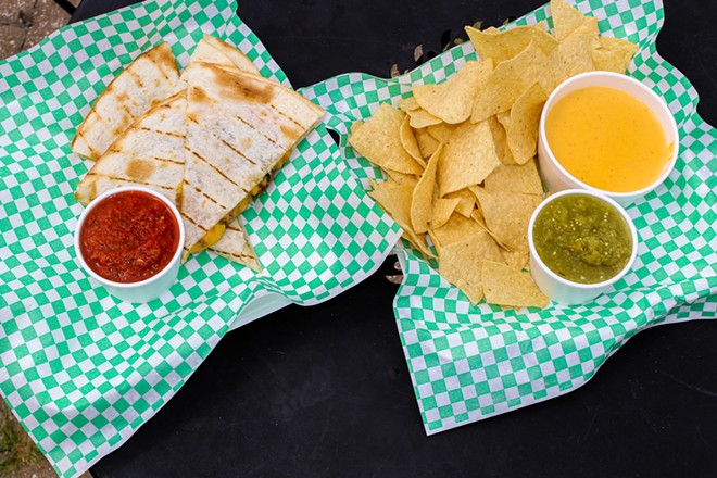 Rock Star features several Tex-Mex-inspired offerings. - CHELSEA NEULING