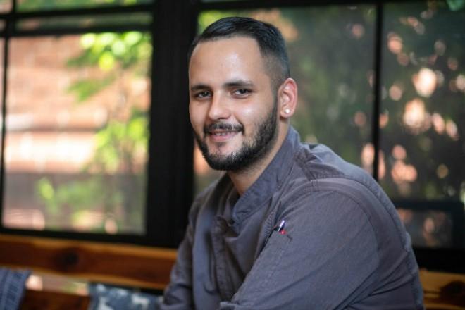 Retreat Gastrob's Adam Bingham found his way in the kitchen. - JEN WEST