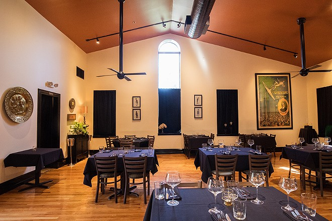 The sunlit dining area is just one of the thoughtful spaces with in the former Soulard tavern. - MABEL SUEN