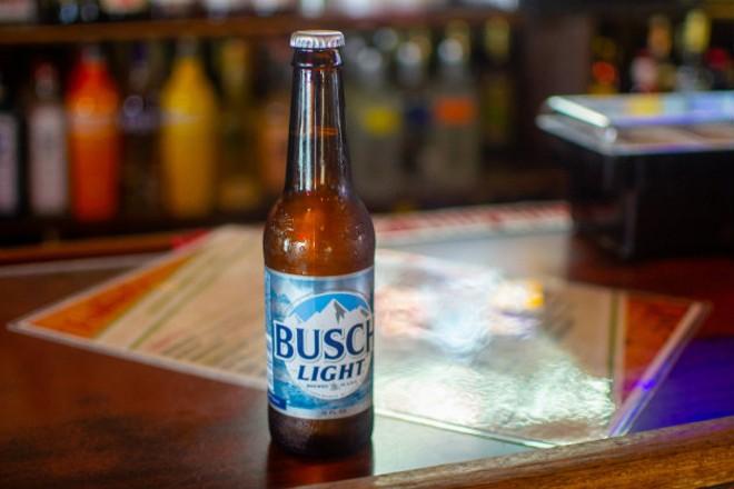 An ice cold Busch Light is always a good decision. - ELLEN PRINZI