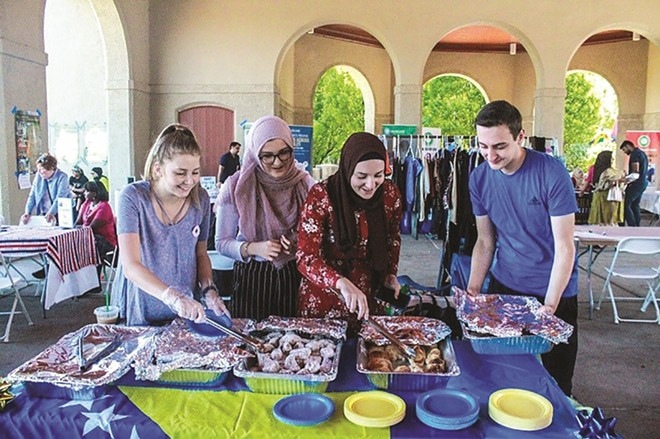 Better wear your Thanksgiving pants to the Great Muslim Food Festival — there are mountains of great food on offer. - COURTESY OF CAIR-MISSOURI