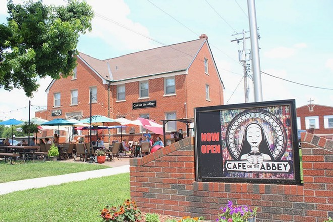 Cafe on the Abbey has been open since February 2018. - KATIE COUNTS