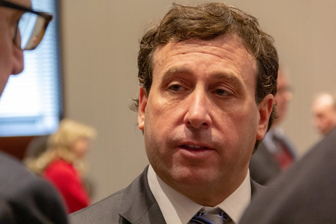 Steve Stenger is very sorry. - RYAN GINES