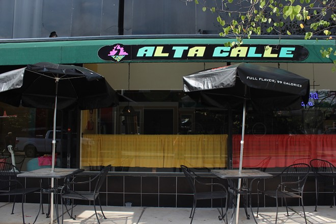 Alta Calle has seating both inside, and on the outside patio. - KATIE COUNTS