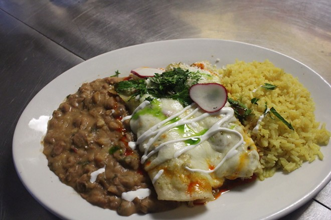 Enchilads are classic comfort food. - KATIE COUNTS