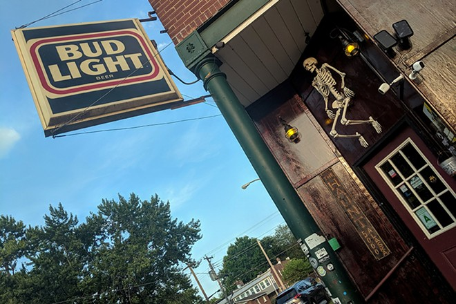 """What started as an """"all-year Halloween"""" gimmick at the Haunt became a sort of marriage between a low-key neighborhood bar and the completely macabre. - DANNY WICENTOWSKI"""