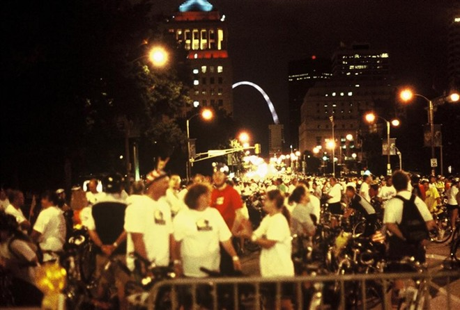 The Moonlight Ramble, seen here circa the early the 2000s, returns to downtown. - FILE PHOTO