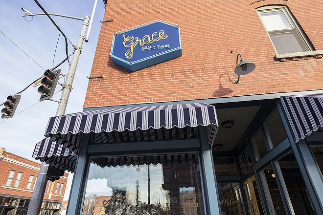 Grace Chicken + Fish will be open for late-night munching in the Grove. - MABEL SUEN