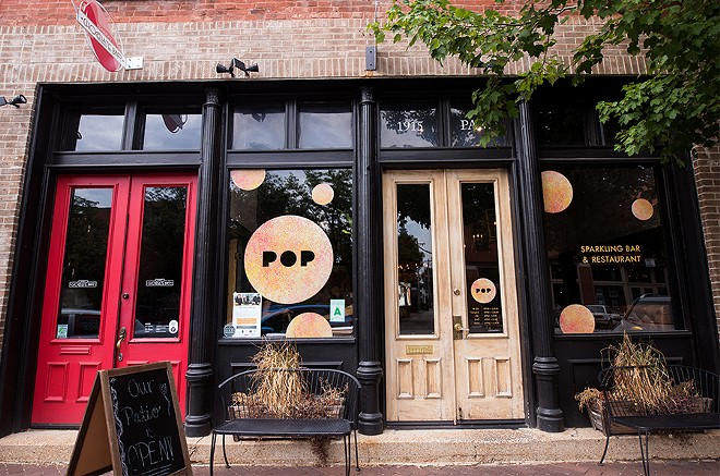 Located in Lafayette Square, Pop is downstairs from Bailey's Chocolate Bar. - MABEL SUEN