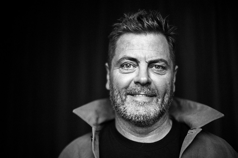 Humorist/woodwooker Nick Offerman performs at the Stifel Theatre November 7.