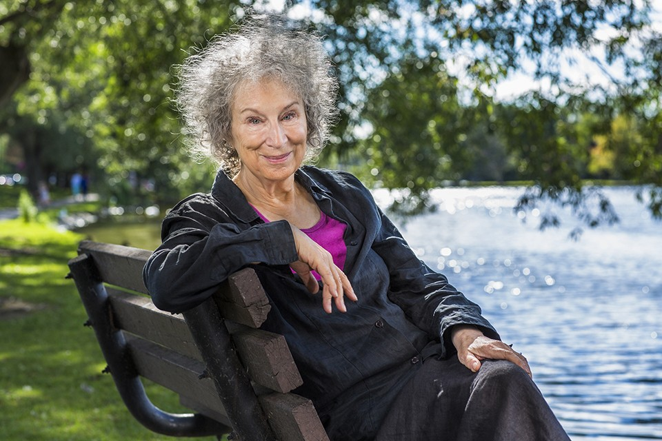 Margaret Atwood discusses The Testaments, her sequel to The Handmaid's Tale. - (C) LIAM SHARP