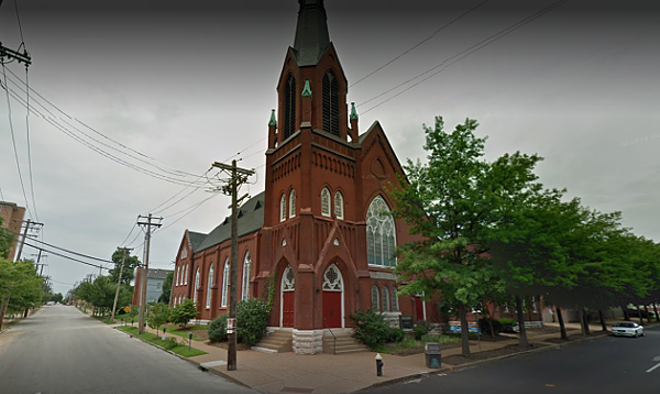 The historic church that housed the Fellowship. - VIA GOOGLE MAPS