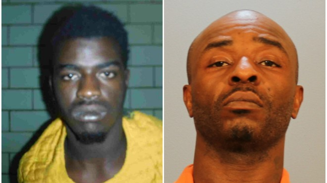 Al Stewart, left, and Christopher Grant are both in custody. - COURTESY  ST. CLAIR COUNTY STATE'S ATTORNEY
