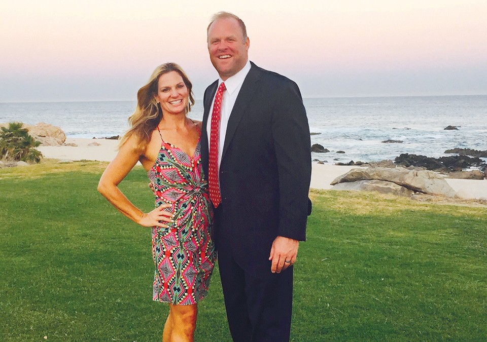Kelsey Chittick and Nathan Hobgood-Chittick met in college. - COURTESY OF THE FAMILY