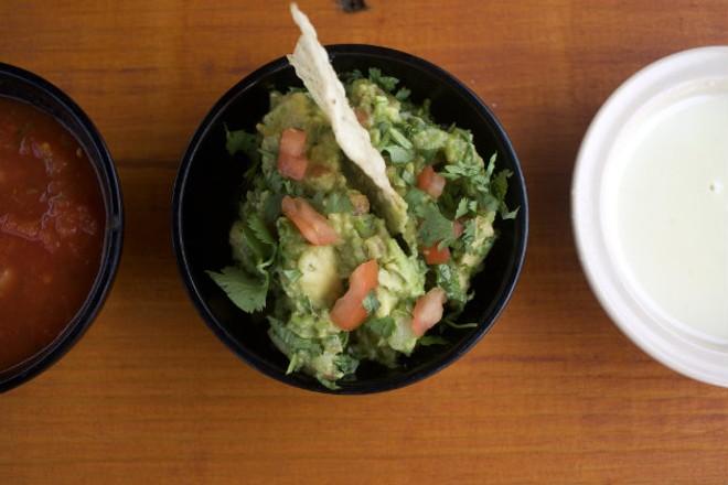 Fresh guacamole is one of the restaurant's specialties. - CHERYL BAEHR