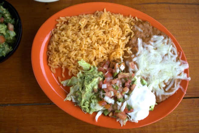 The restaurant's Tex-Mex specialties are all house-made. - CHERYL BAEHR