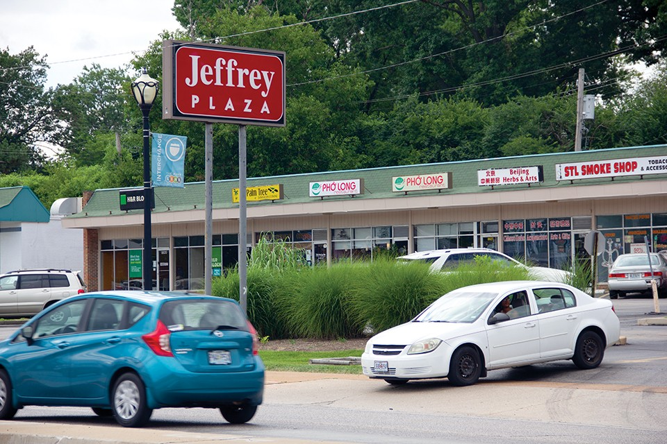 Businesses in Jeffrey Plaza are on six-month leases at this point. - DANNY WICENTOWSKI