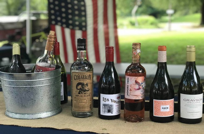 A selection of wines and spirits offered at Southside Wine + Spirits. - COURTESY SOUTHSIDE WINE + SPIRITS