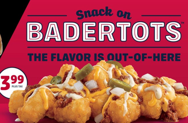An order of BaderTots will only cost you $3.99. - COURTESY SONIC DRIVE-IN