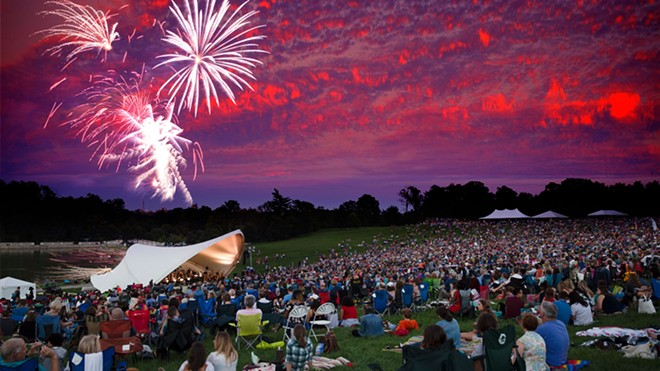 The St. Louis Symphony starts its new season with a free concert on Art Hill. - COURTESY OF ST. LOUIS SYMPHONY