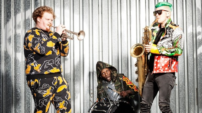 Too Many Zooz wil perform at Off Broadway on Friday, February 7. - VIA PARADIGM TALENT AGENCY