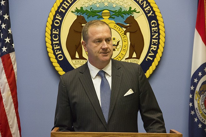 Missouri Attorney General EricSchmitt. - DANNY WICENTOWSKI
