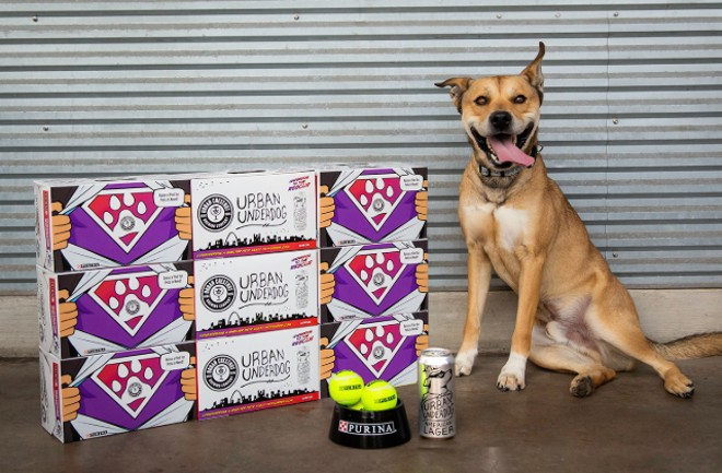 Proceeds for the American lager benefit local pet shelters. - COURTESY URBAN CHESTNUT BREWING CO.
