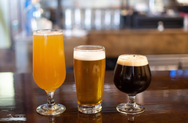 Bluewood Brewing and Mac's Local Eats are a one-stop shop for quality burgs and beers. - ELLEN PRINZI